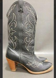VTG Acme Heeled Boots